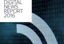 Portada del informe 2016 sobre medios de comunicación del Instituto Reuters