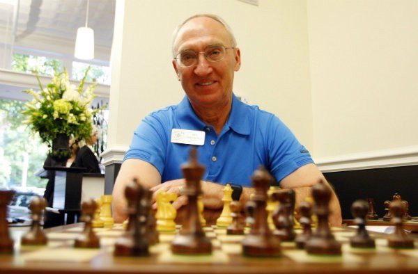 El millonario patrocinador del ajedrez estadounidense, Rex Sinquefeld.