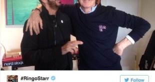 Ringo Starr contará con Paul McCartney en un próximo álbum