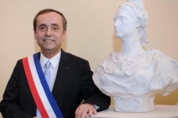 Robert Ménard, alcalde de Beziers.