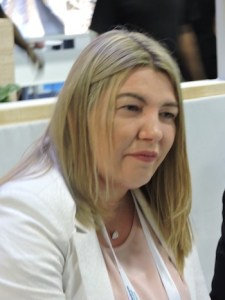 Rosana Andrea Bertone, gobernadora de Tierra del Fuego, Argentina.