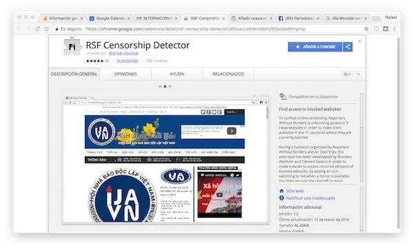 RSF-Censorship-detector