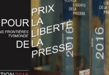 RSF-TV5 Monde, logo 2016