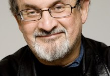 Salman Rushdie (India / USA), photographed April 26, 2007, New York. © Beowulf Sheehan / PEN American Center / Opale
