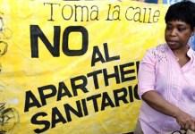 Fotografía sobre exclusión sanitarias del archivo de Nueva Tribuna