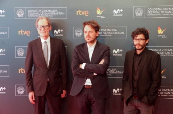 Sieveking, Torres y Salguero. Foto: Pablo Gómez