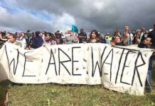 Standing Rock, protestas de nativos sioux en defensa de sus recursos