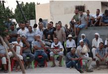 Agricultores y trabajadores del Oasis de Jemma, Túnez