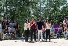 Presentación de Unidos Podemos