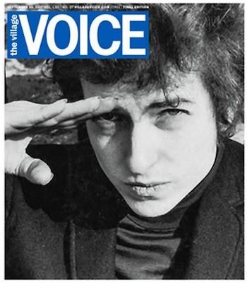 Última portada de Village Voice