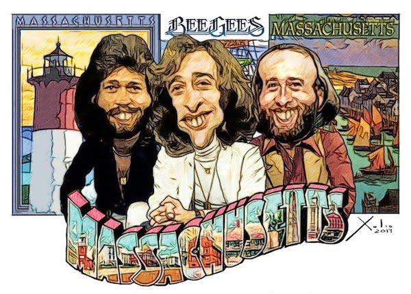 Xulio Formoso: Los Bee Gees