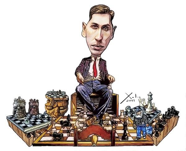 Xulio Formoso: Bobby Fischer