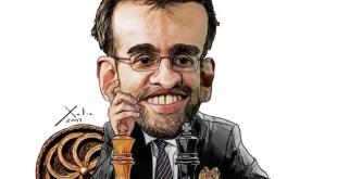 El armenio Levon Aronian, genio creativo del ajedrez