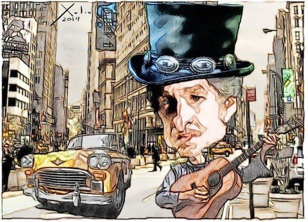Xulio Formoso: Bob Dylan en Nueva York