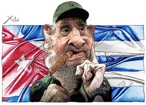Xulio Formoso: Fidel Castro
