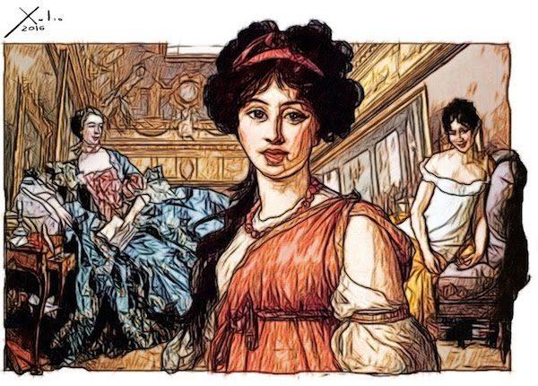 Xulio Formoso: mujeres de Francia