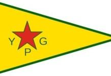 Bandera del YPG