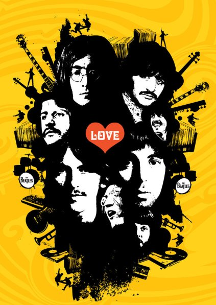 the_Beatles_by_82percentevil