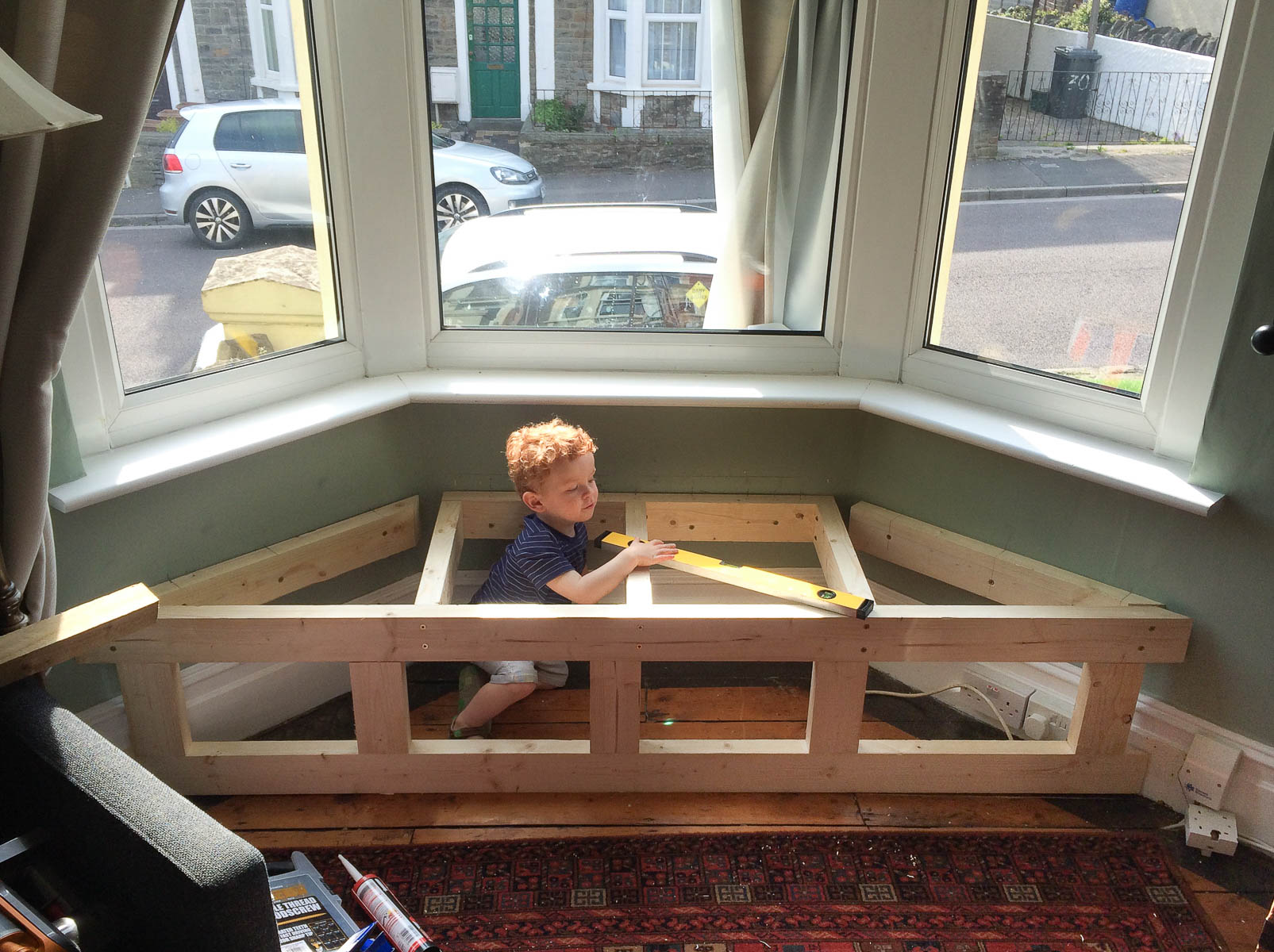 Bon Window Seat Timber Frame