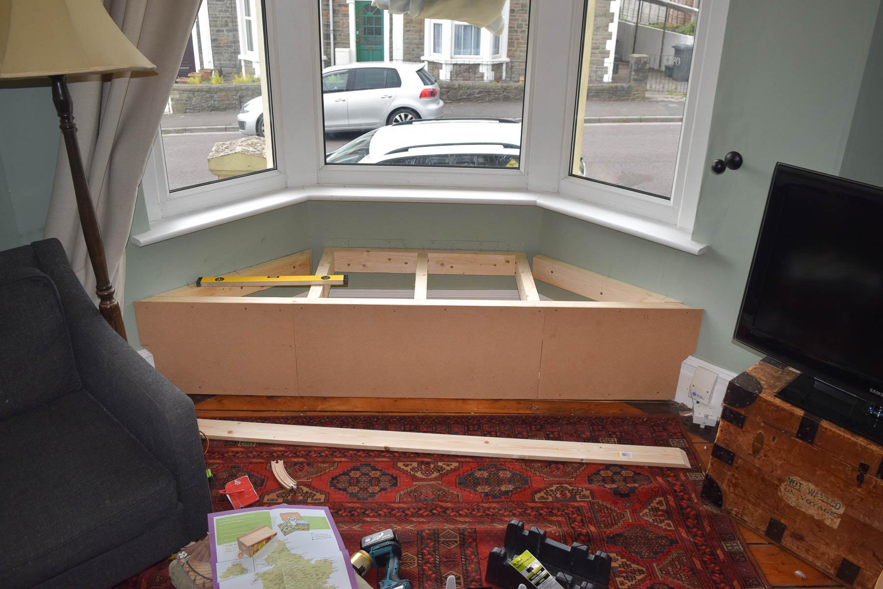 Uncut Window Seat Video Part - 44: Superior Victorian Bay Window Seat Part - 4: Window Seat Mdf Sheet 2