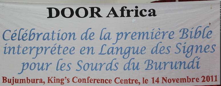 Day 10 – Bujumbura, Burundi (14 November 2011) Dedication Day (1/6)