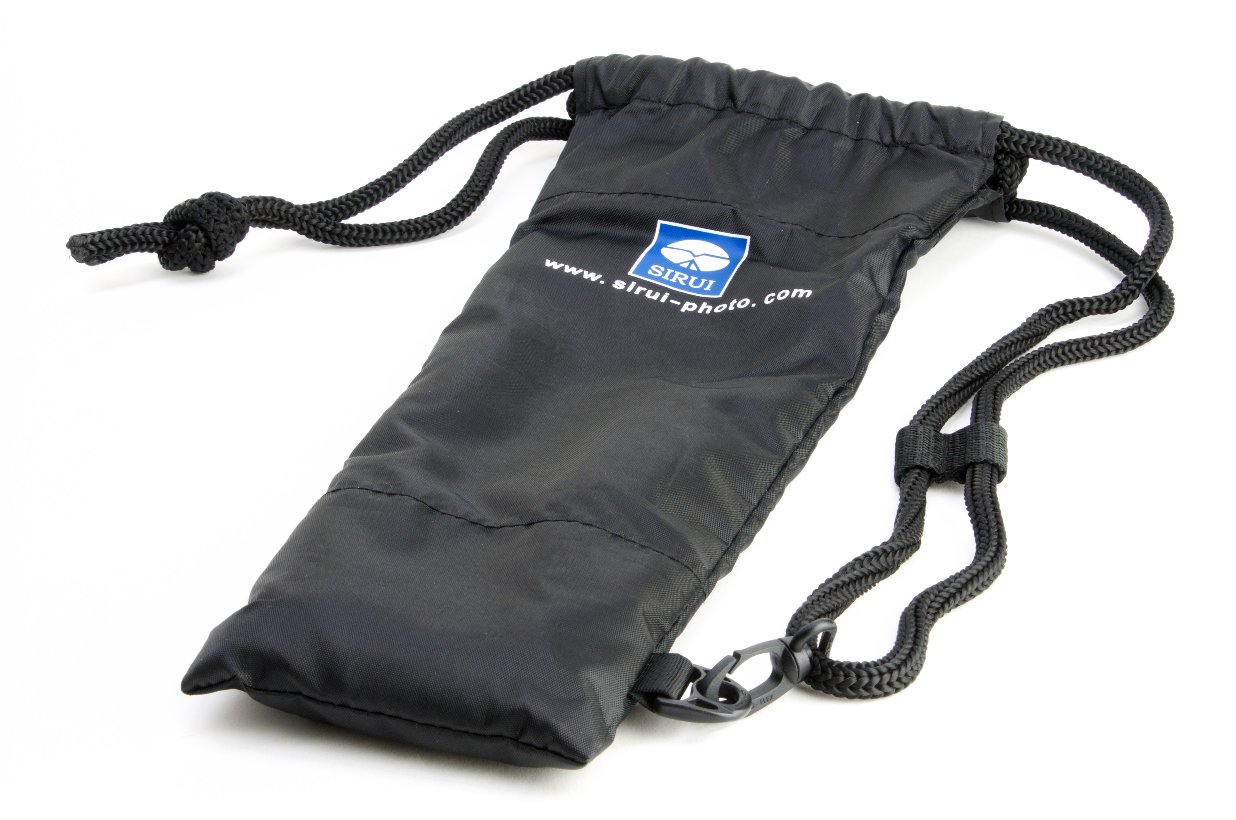 "The tripod ""case"" is a drawstring bag. Why bother?"