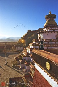 Gyantse Kumbum Stupa and Phalkot Monastery