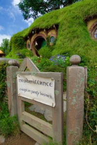 The most famous Hobbit hole in the world.