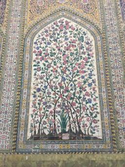 Shiraz mosque detail