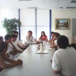 Ο Δήμαρχος Περιστερίου τιμάει τους αθλητές της Π.Σ.Περιστερίου