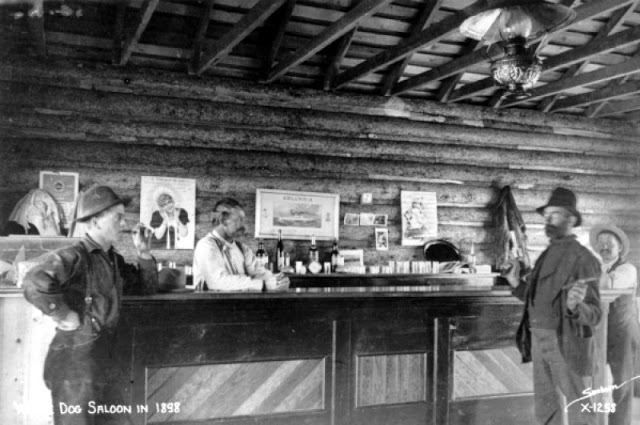 Cowboys at Old West Saloons (2)