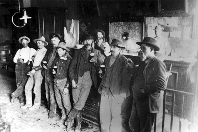 Cowboys at Old West Saloons (20)