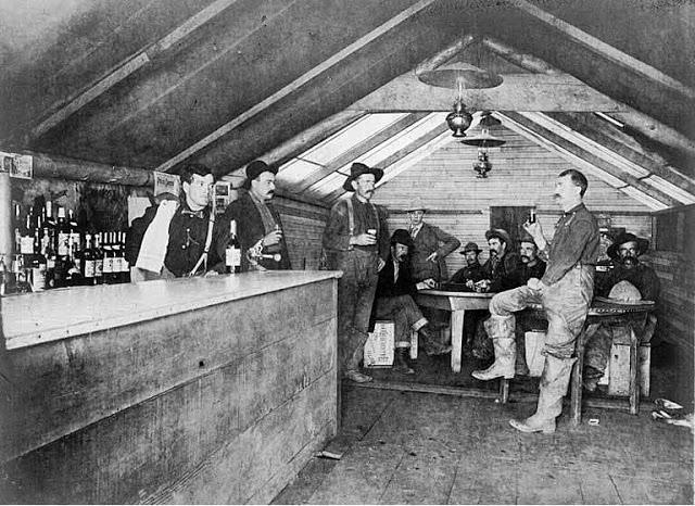Cowboys at Old West Saloons (3)