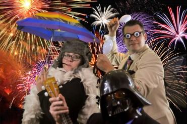 Sarasota Green Screen-Wedding 2016-fireworks umbrellas