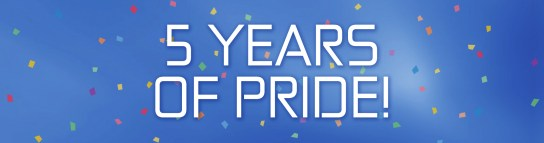 Five Years of Pride