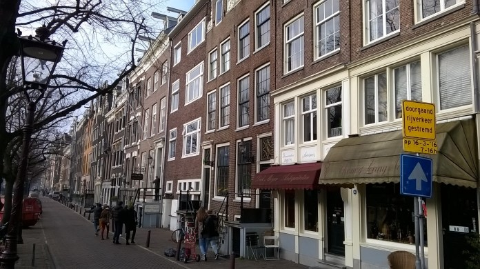 Long and tall in Amsterdam