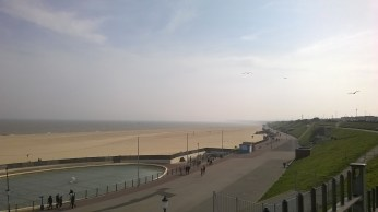 Gorleston Beach from the Cliff Hotel