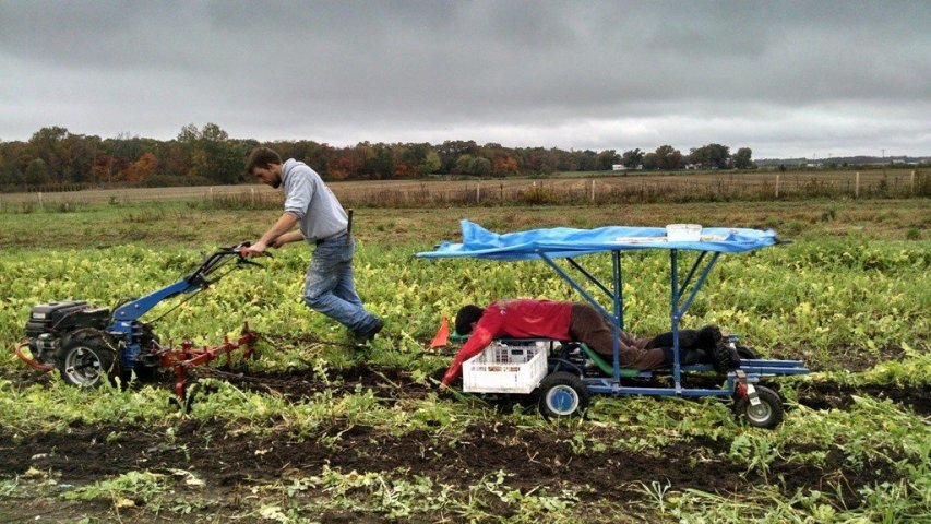 Dan and Dirk Planting