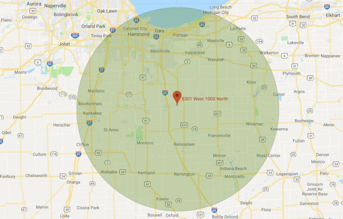 Wholesale Map