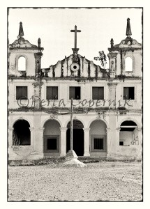 Abandoned colonial church in NE Brazil,