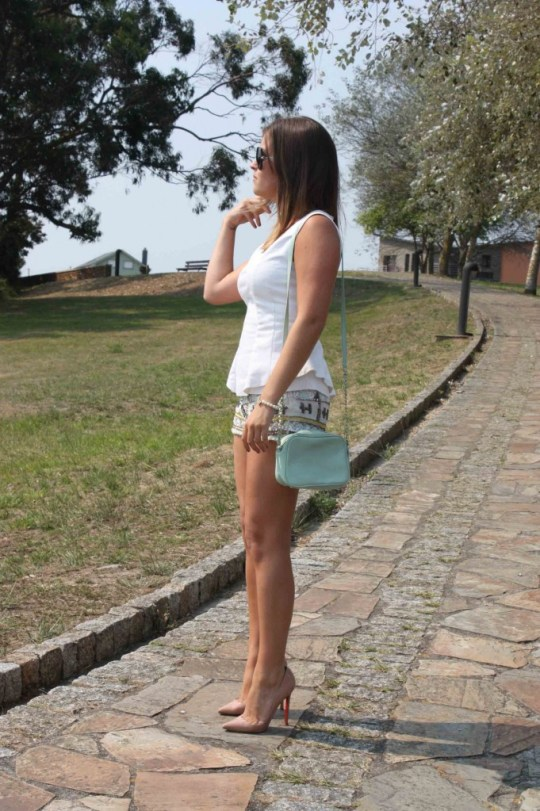 shorts lentejuelas top peplum copy