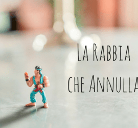 action figure di rocky arrabbiato
