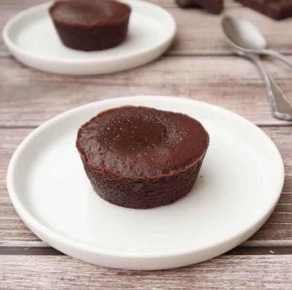 Fondant Au Chocolat Au Coeur Coulant Vegan Perle En Sucre