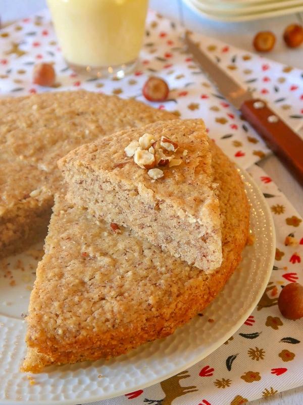 Gâteau aux noisettes façon creusois {vegan}