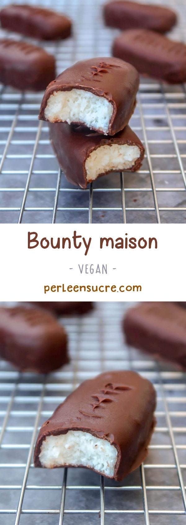 Bounty maison {vegan}
