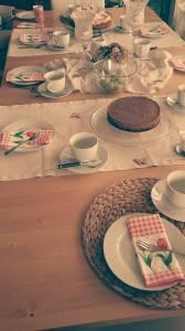 Kaffee-Tafel für 4 Generationen.