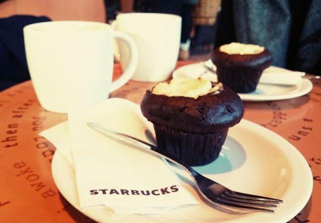 ...wo ich die Berliner Freundin auf einen Kaffee und einen gemütlichen Plausch traf.