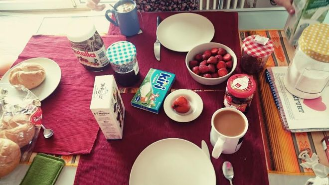 Frühstück!