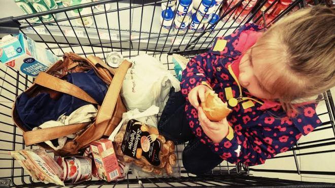 ...und wir gingen einkaufen.