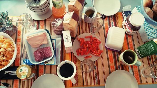 Der Sonntag begann wieder mit einem sehr gemütlichen gemeinsamen Frühstück.